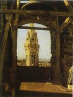 Tour du Palais du Podesta (Giuseppe Abbati)