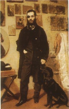 Giovanni Boldini. Le peintre Beppe Abbati