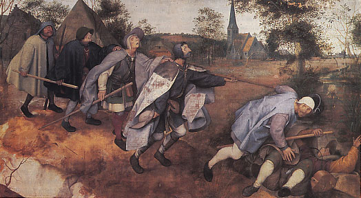 Bruegel La parabole des aveugles