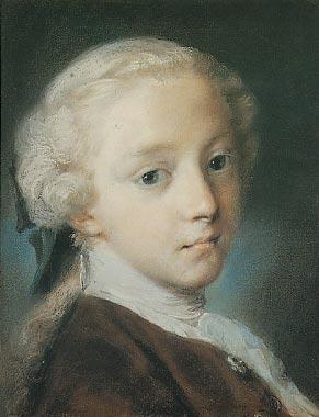 Portrait de jeune homme Rosalba Carriera
