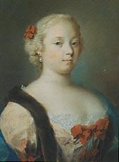 Portrait de jeune fille Rosalba Carriera