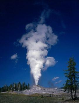 Tel un geyser