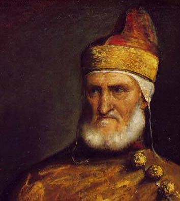 Titien Portrait du Doge Andrea Gritti 1544-1545