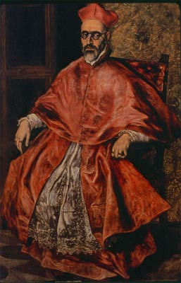 """L'inquisiteur"" El Greco 1596"
