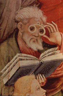 """""""Saint Luc"""" Konrad v.Soest, 1404"""