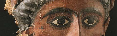 Masque de femme Epoque romaine