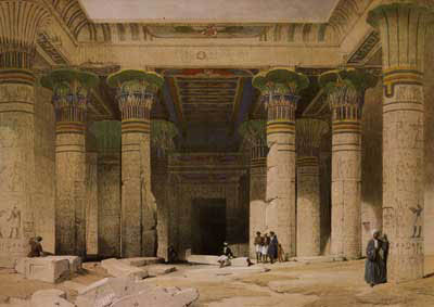 Grand portique du temple de Philae