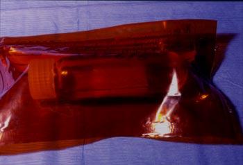 Décongélation de la membrane sur filtre de nitrocellulose avant son utilisation