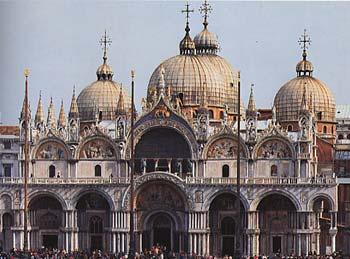 La basilique Saint-Marc (Venise Italie)